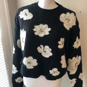Topshop lightweight crew neck sweater